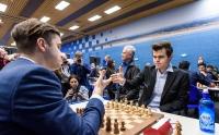 Максим Матлаков и Магнус Карлсен