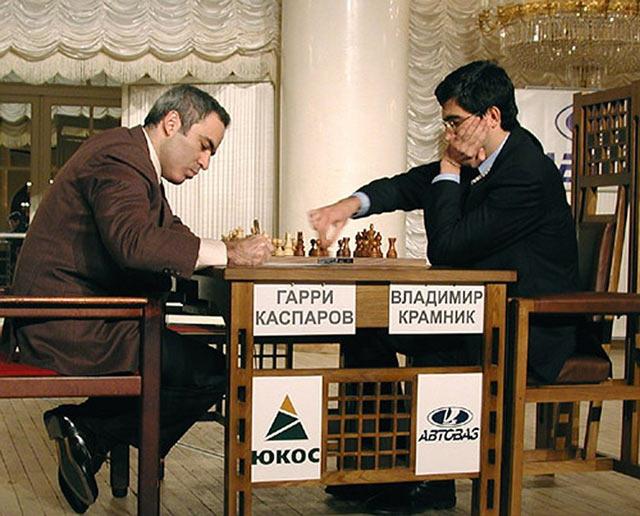 Лондон. Матч между Гарри Каспаровым и Владимиром Крамником