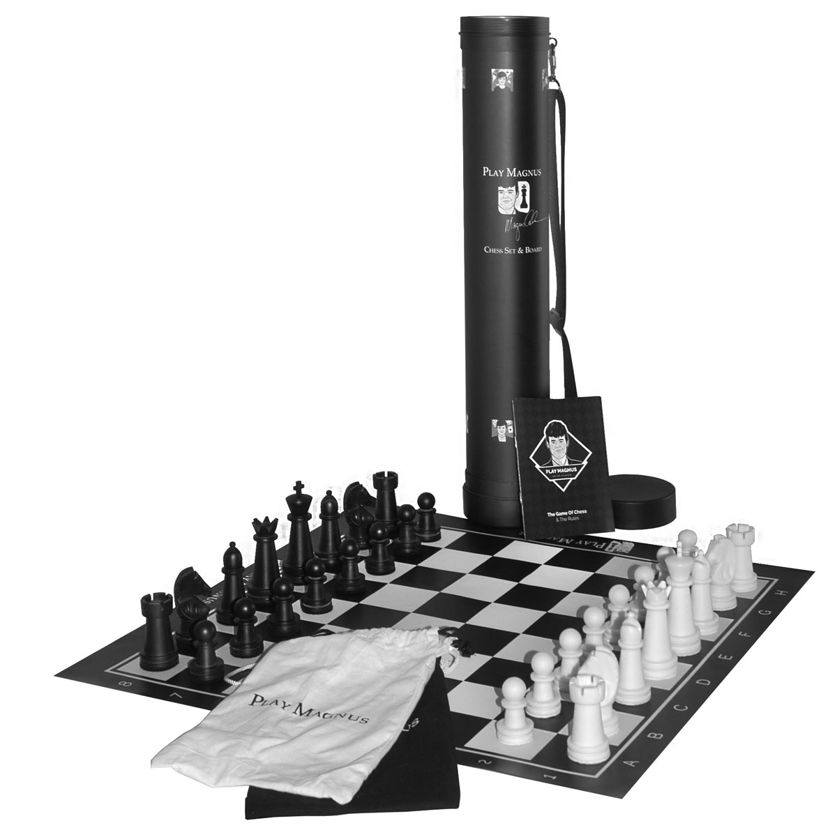 "Состав шахматного набора ""Play Magnus"""