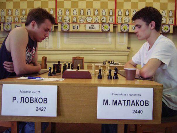 2007 год, чемпионат Санкт-Петербурга. Роман Ловков - Максим Матлаков