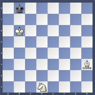 Шахматная задача на мат в 5 ходов