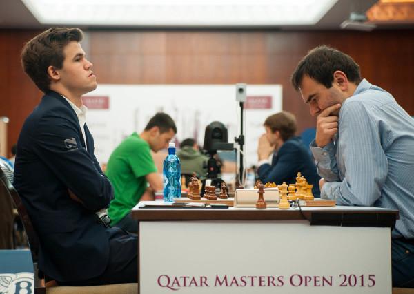 Катар Опен 2015 - Карлсен и Мамедьяров