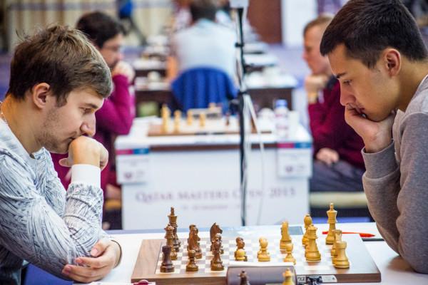 Сергей Карякин (Россия) и Дариуш Сверч (Польша)