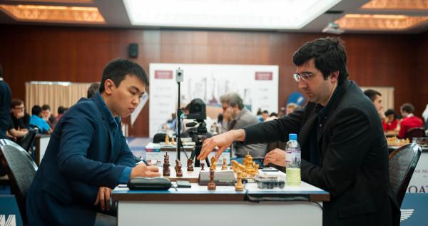 Qatar open 2015 - Сюгиров и Крамник