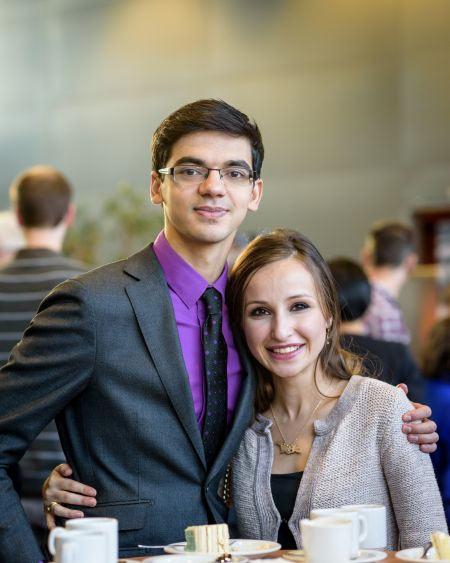 Аниш Гири и Софико Гурамишвили