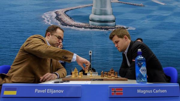 Tata Steel Chess 2016: Павел Эльянов и Магнус Карлсен