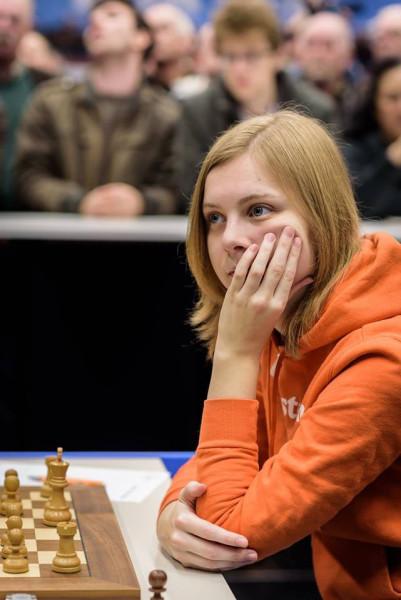 Анна Хааст (Anne Haast) - шахматистка из Голландии