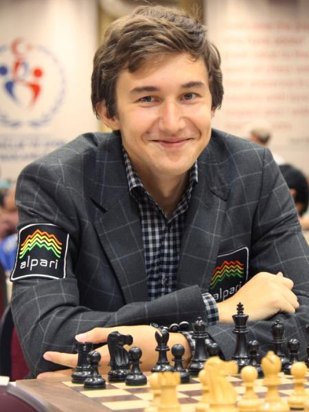Спонсоры шахматиста Сергея Карякина