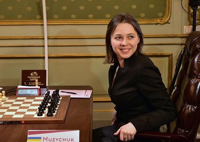 Несмотря на тяжёлый матч, Мария Музычук никогда не теряла присутствие духа