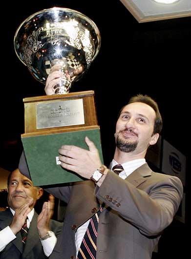 В 2005 году, Веселин Топалов стал чемпионом мира по шахматам по версии ФИДЕ