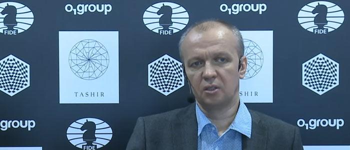 Сергей Шипов на турнире претендентов 2016