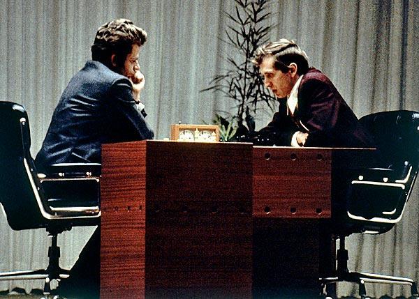 Борис Спаский и Бобби Фишер. Рейкьявик, 1972 год