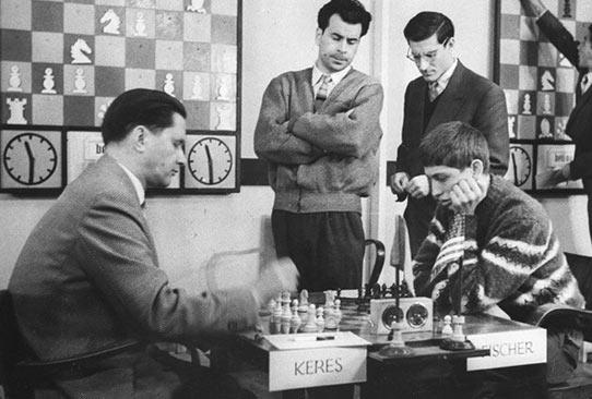 Пауль Керес (СССР) - Бобби Фишер (США). Турнир претендентов, 1959 год
