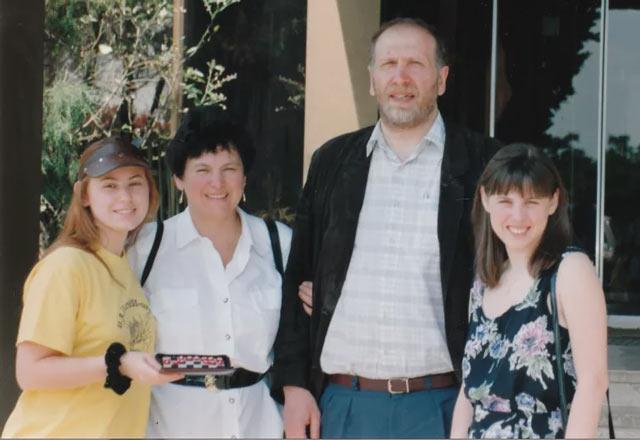 Юдит Полгар, её мать, Бобби Фишер и София Полгар