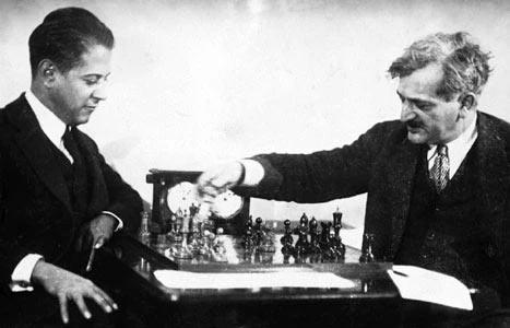 Хосе Рауль Капабланка и Эмануэль Ласкер (Гавана, 1921)