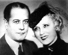 Капабланка и Ольга Чегодаева