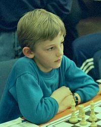 Шахматист Александр Грищук в детстве