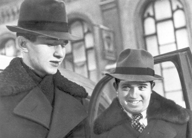 Друзья Пауль Керес и Сало Флор (Ленингад, 1939)