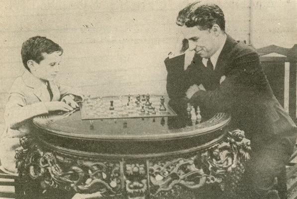 Сэмми Решевский и актер Чарли Чаплин