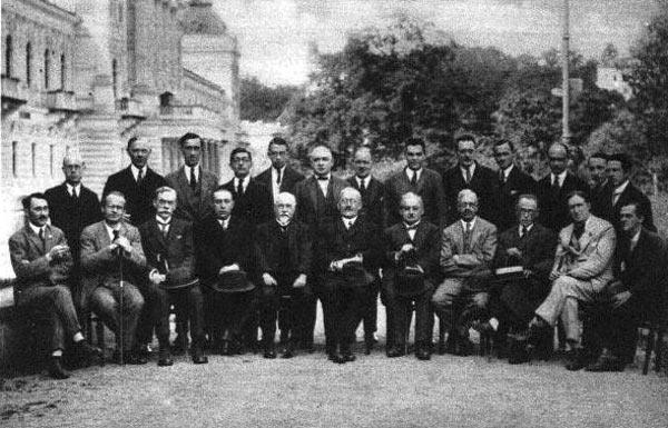 Участники Карлсбадского турнира 1929 года