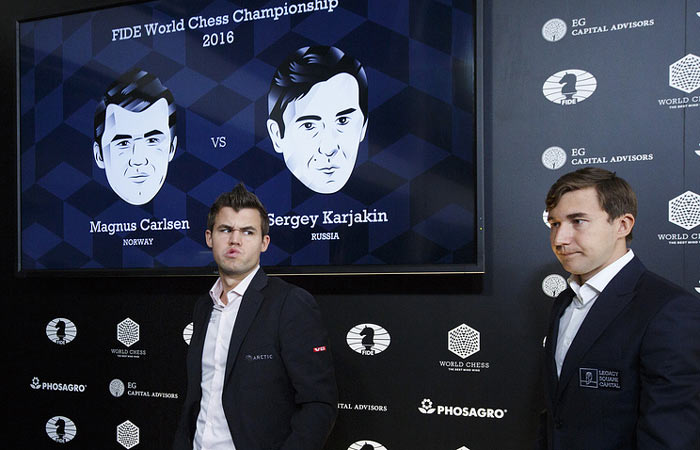 Действующий чемпион мира настроен на борьбу более чем решительно, что отобразилось у него на лице