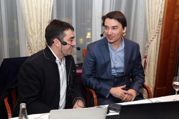 В дуэте с Александром Морозевичем