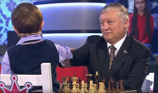 Миши Осипов и Анатолий Капров