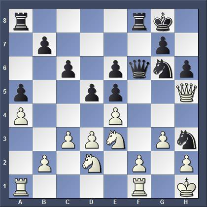 Критическая позиция в 10 партии матча Карлсен - Карякин 2016