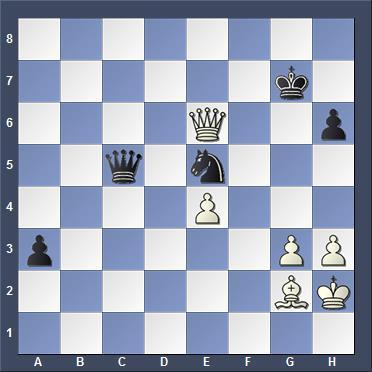 При ходе 51... h5 у чёрных выиграно