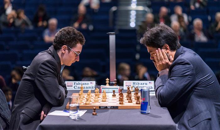 London Chess Classic 2016 - тур 6. Фабиано Каруана и Хикару Накамура