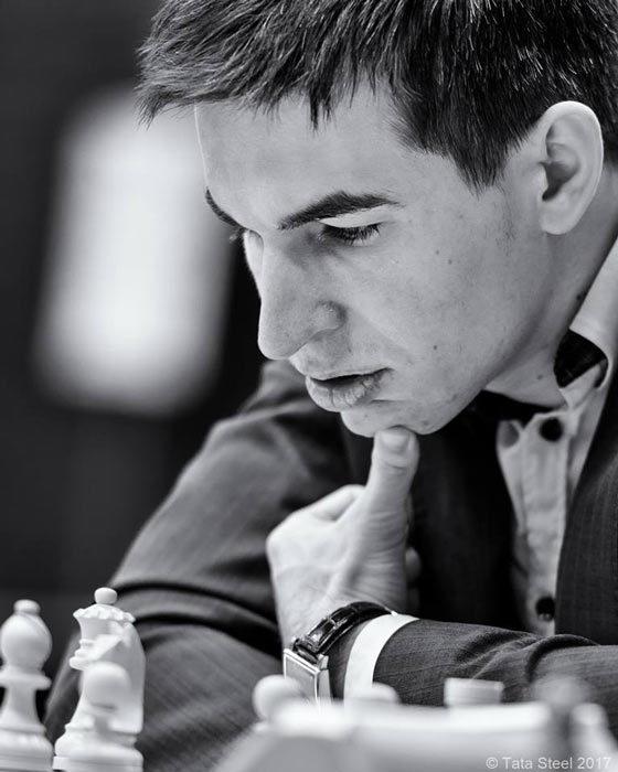Шахматист Дмитрий Андрейкин (Россия)
