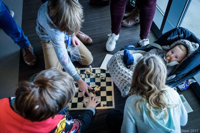 Юные почитатели шахмат
