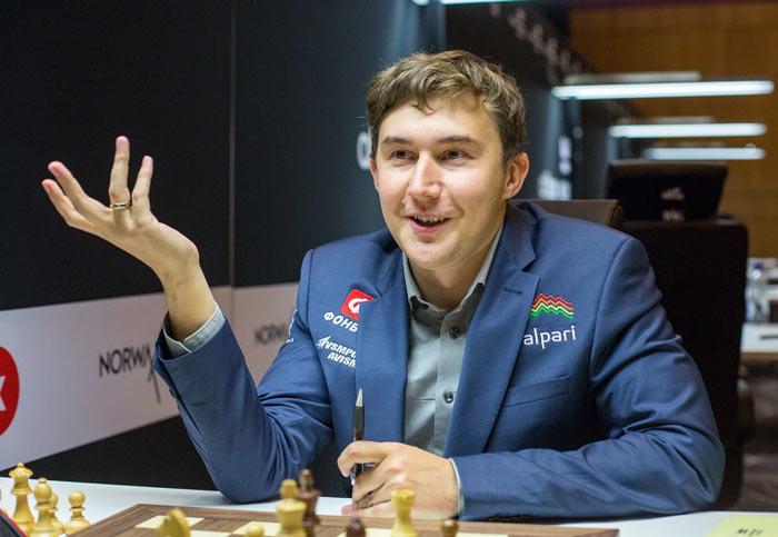 Сергей Карякин после второго тура Altibox Norway Chess 2017