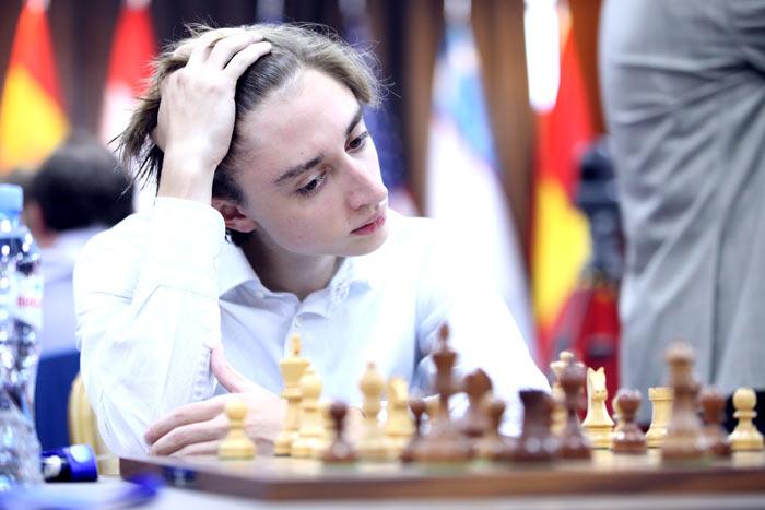 Шахматист Даниил Дубов (Кубок мира 2017, Грузия, Тбилиси)