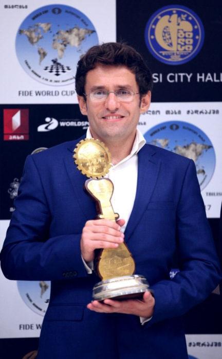 Левон Аронян - победитель Кубка мира 2017 в Тбилиси