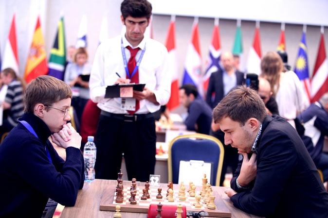 Антон Смирнов и Сергей Карякин