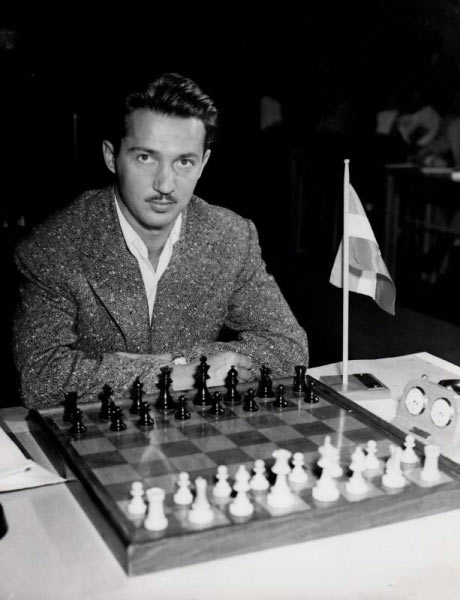 Светозар Глигорич в молодости