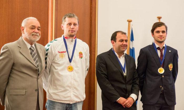 Лучший результат на четвертой доске: 1.Рауф Мамедов, 2. Максим Матлаков, 3. Золтан Алмаши