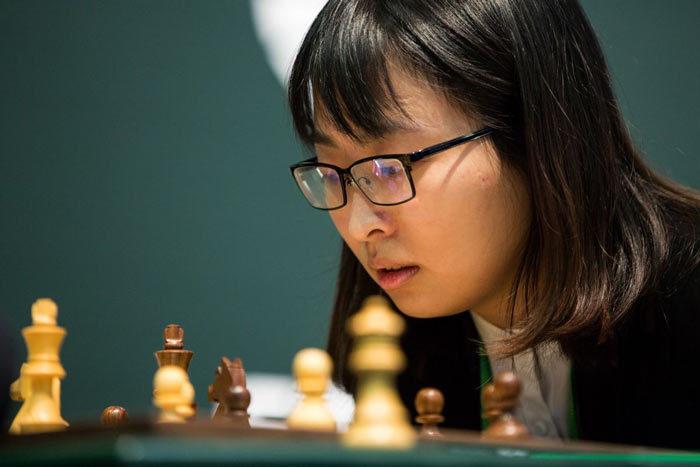 Цзюй Вэньцзюнь - победитель женского турнира по быстрым шахматам