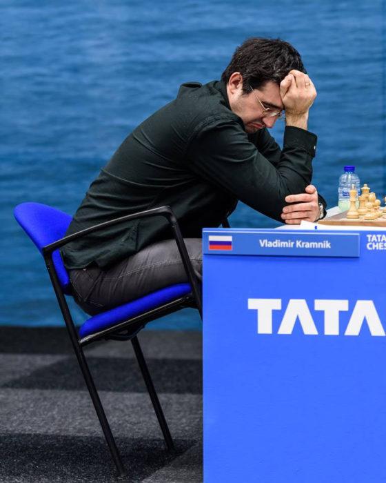 Владимир Крамник - 8 тур Tata Steel Chess 2018