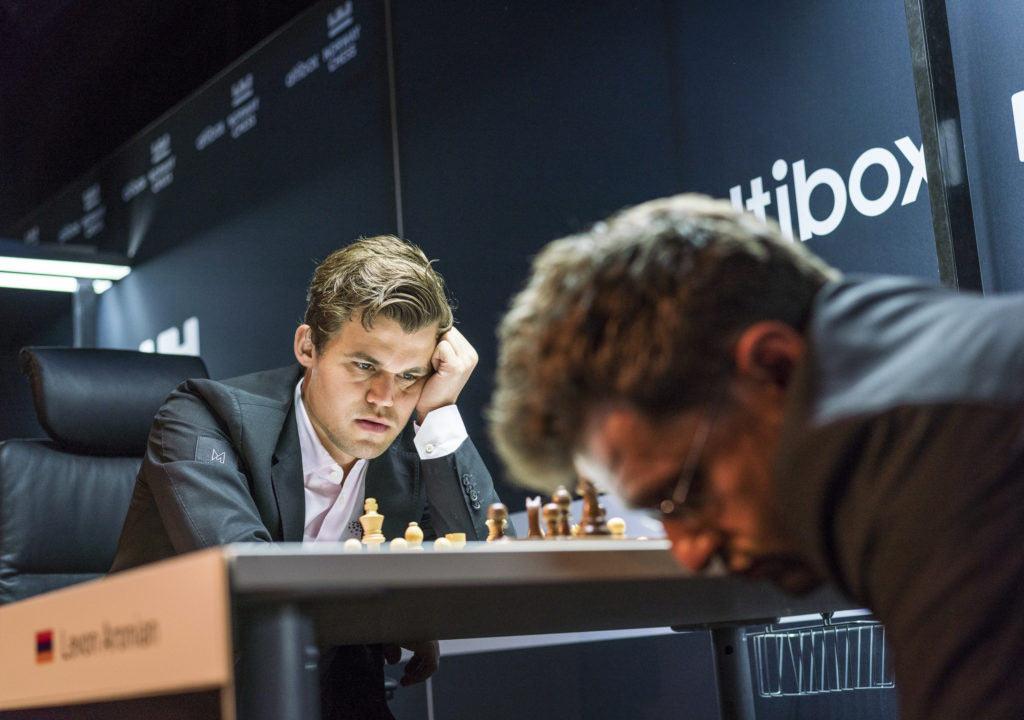 Ставангер 2018 (шахматы, тур 3). Магнус Карлсен и Левон Аронян