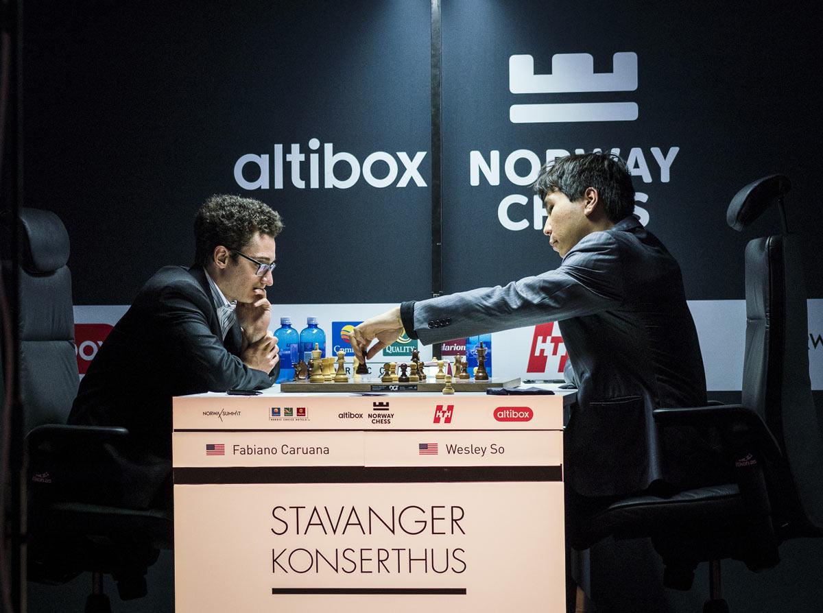 Победа над Со, принесла Каруане чистую победу в Altibox Norway Chess 2018