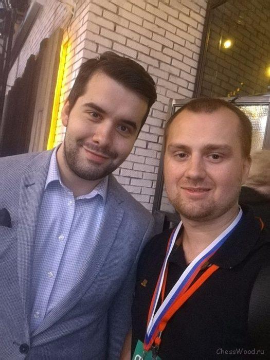 Ян Непомнящий (МГ) и Роман Ловков (ММ)