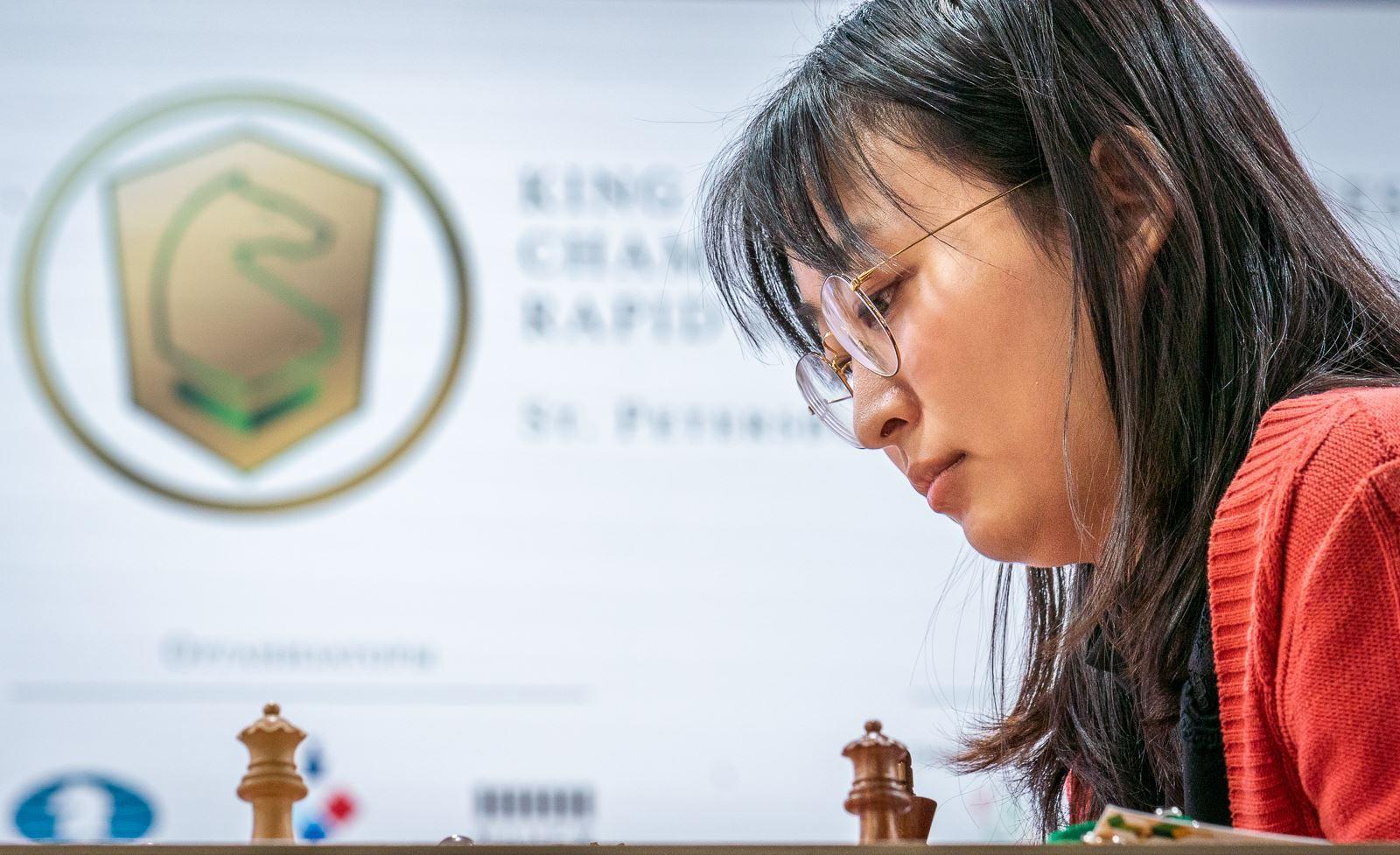 Цзюй Вэньцзюнь (Китай) - чемпионка мира по рапиду 2018 среди женщин
