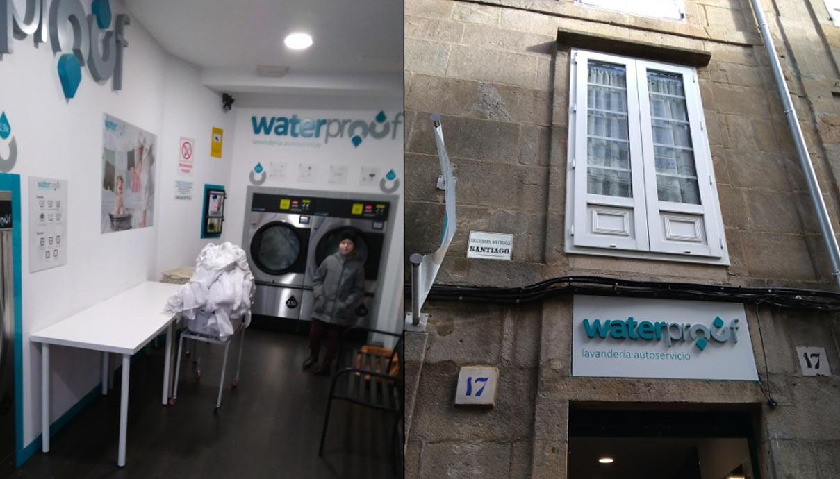 Прачечная самообслуживания. Сантьяго-де-Компостела (Испания)
