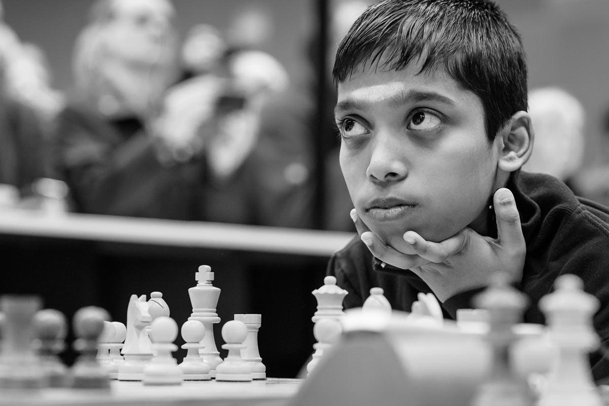 Рамешбабу Прагнанандха | Фото: Алина Л'Ами/Tata Steel Chess