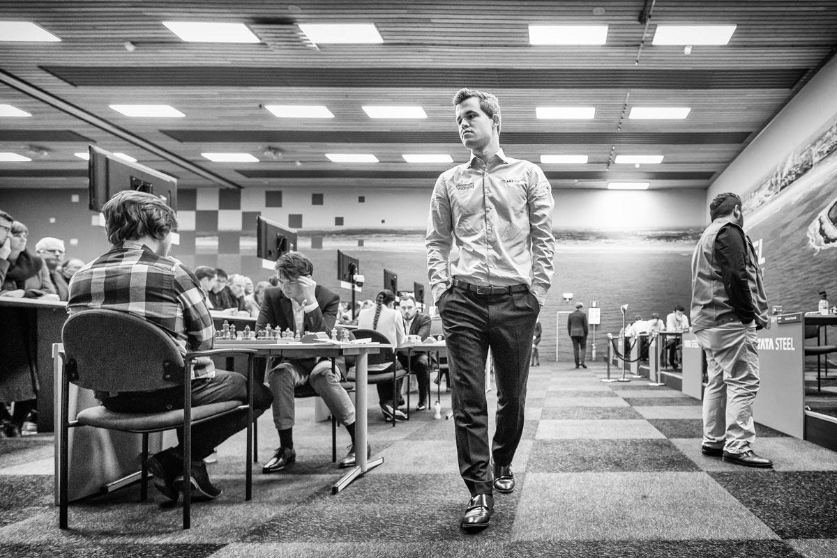 Шахматный турнир Вейк-ан-Зее 2019. Магнус Карлсен