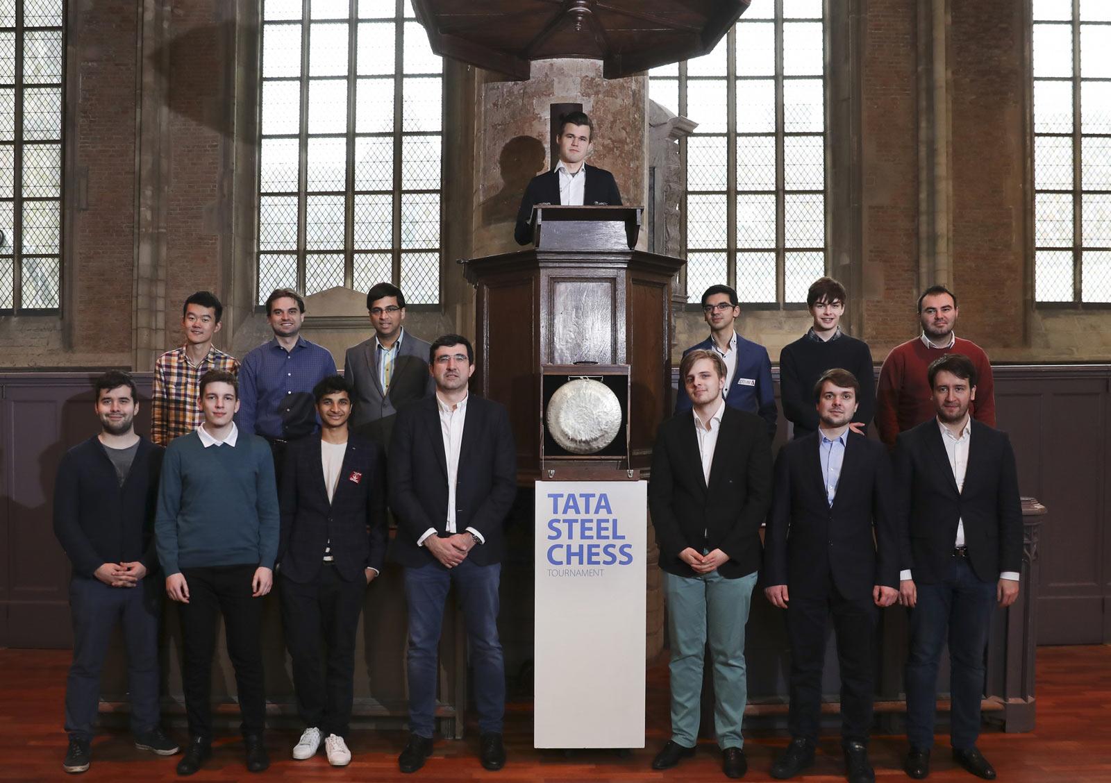 Десятый тур Tata Steel Chess 2019 прошел в Лейдене