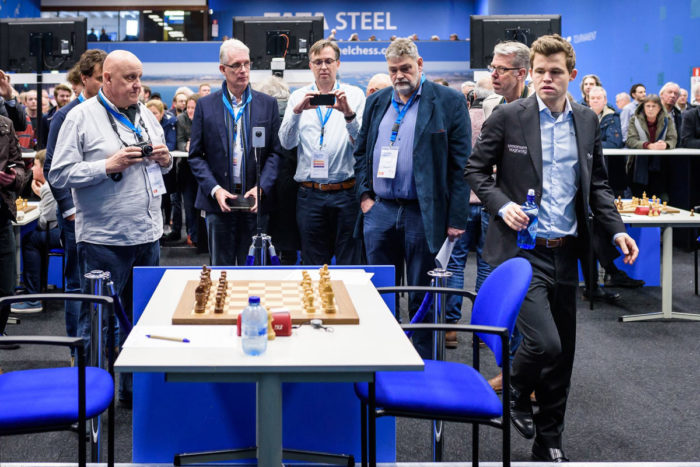 Магнус Карслен (Magnus Karlsen) Tata Steel Chess 2019