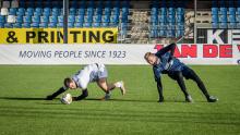 Магнус может играть в футбол даже на четвереньках :)
